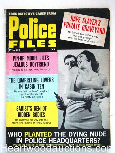"""Police Files"" October 1963"