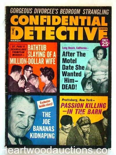 """Confidential Detective"" March 1965"