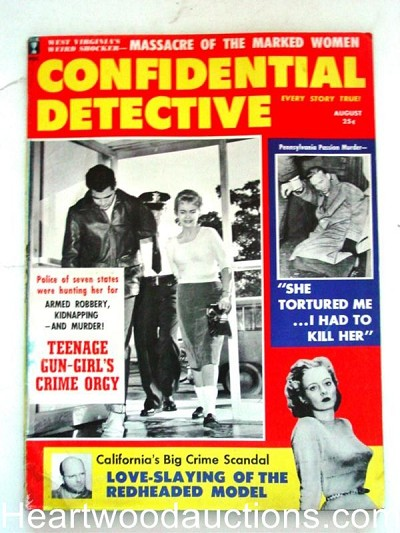 """Confidential Detective"" August 1959"