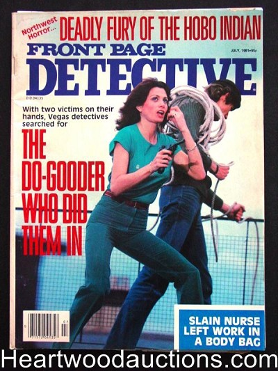 """Front Page Detective"" July 1981"
