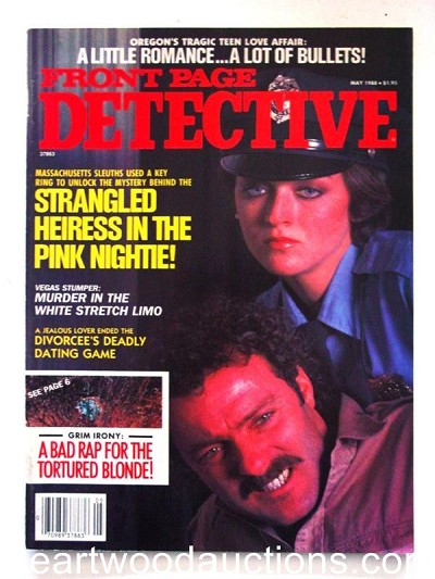 """Front Page Detective"" May 1988"