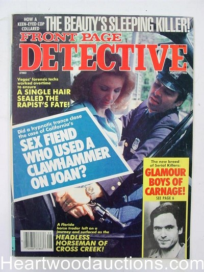 """Front Page Detective"" August 1988 Bad Girl Cover"