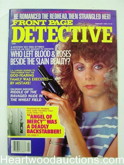 """Front Page Detective"" February 1988 Bad Girl Cover"
