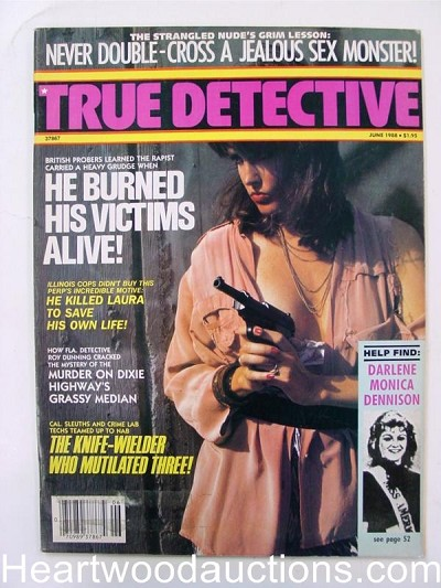"""True Detective"" June 1988 Bad Girl Cover"