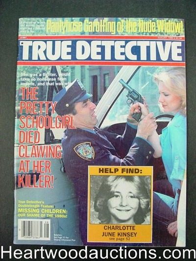 """True Detective"" August 1985 Bad Girl cover"