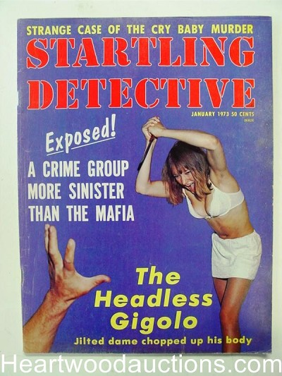 """Startling Detective"" January 1973"