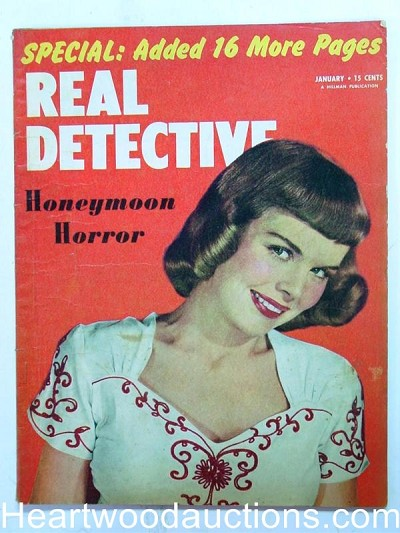 """Real Detective"" January 1952"