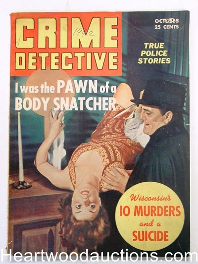 """Crime Detective"" October 1942 Assault Cover"