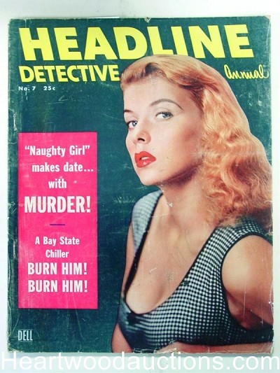 """Headline Detective"" Annual 1955 #7"