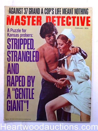 """Master Detective"" February 1974 Wild Hypo Assault"