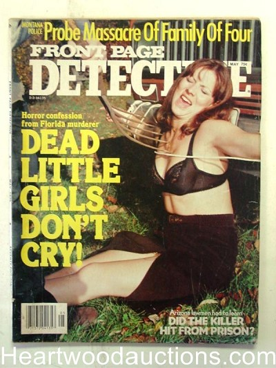 """Front Page Detective"" May 1979 Wild Bondage"