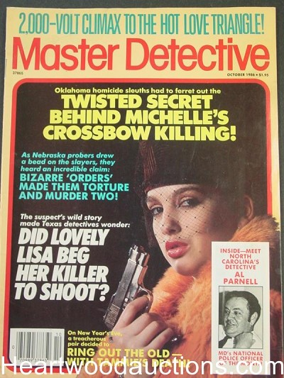 """Master Detective"" October 1986 Bad Girl Cover"