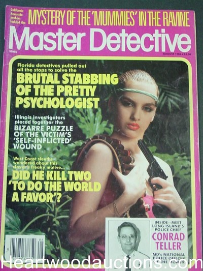 """Master Detective"" August 1986 Bad Girl Cover"