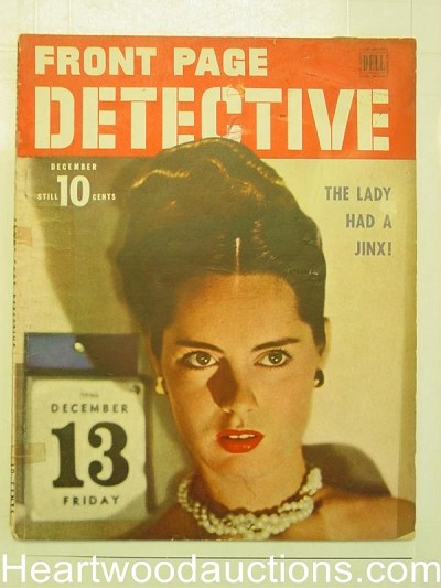 """Front Page Detective"" December 1946"
