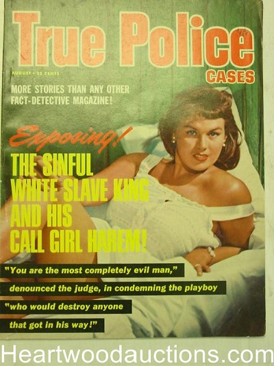 """True Police Cases"" August 1965"
