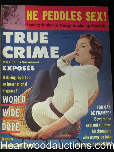 """True Crime"" May 1956"