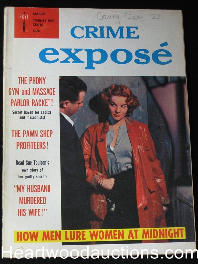 """Crime Expose"" March 1958"