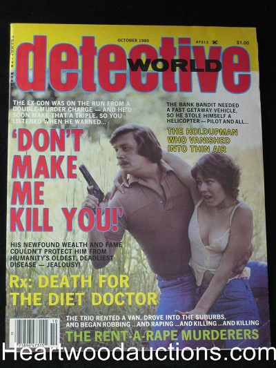 """Detective World"" October 1980"