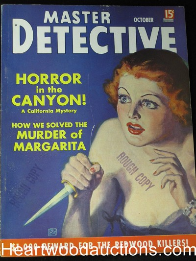 """Master Detective"" October 1937"