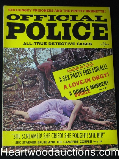 """Official Police"" October 1968 Love-In Orgy"