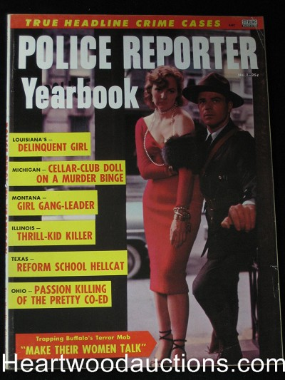 """Police Reporter Yearbook"" 1956 Volume 1 #1"