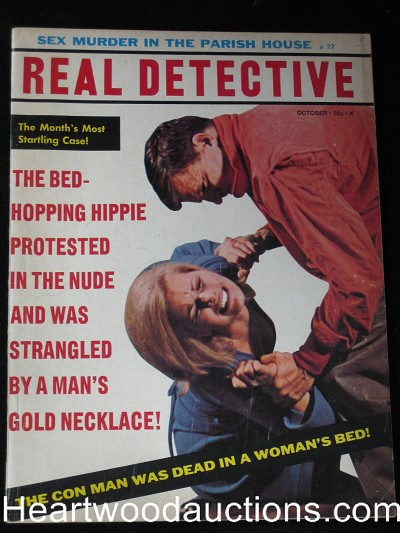 """Real Detective"" October 1966 Assault Cover"