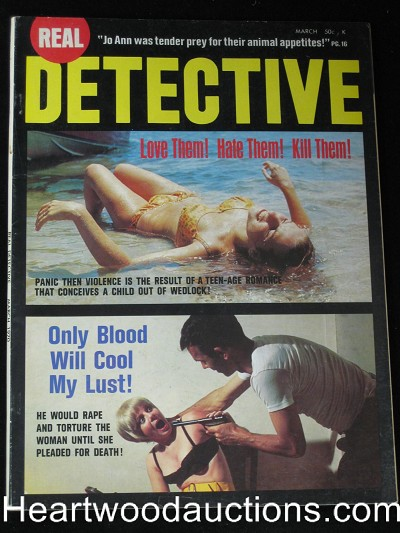 """Real Detective"" March 1970"