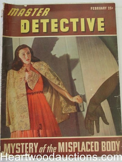 """Headquarters Detective"" February 1946"