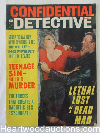 """Confidential Detective"" May 1966 Assault Cover"