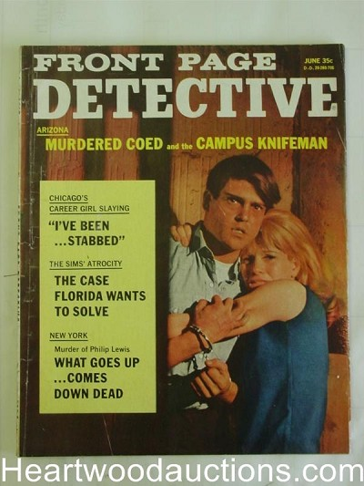 """Front Page Detective"" June 1967"