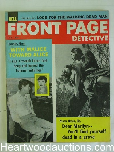 """Front Page Detective"" January 1959"