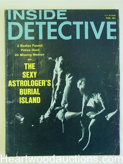 """Inside Detective"" August 1970"
