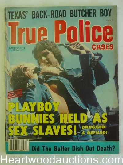 """True Police Cases"" October 1978 Assault Cover"