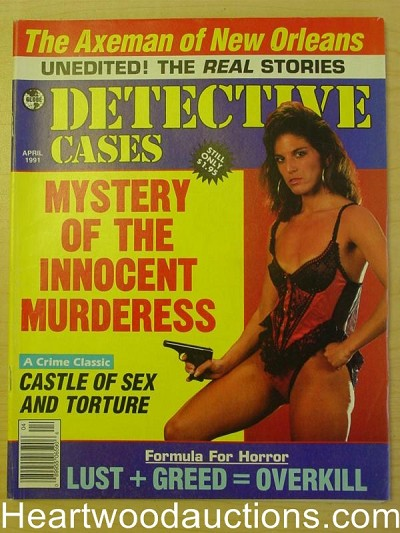 """Detective Cases"" April 1991 Bad Girl Cover"