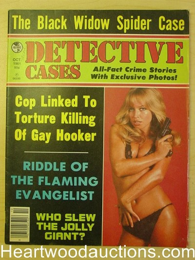 """Detective Cases"" October 1981"