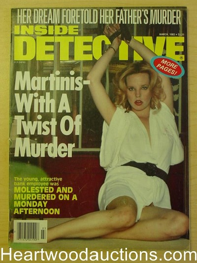"""Inside Detective"" March 1982 Bondage Cover"