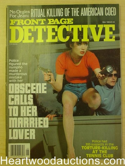 """Front Page Detective"" May 1982 Bad Girl cover"