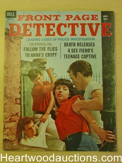 """Front Page Detective"" January 1964"