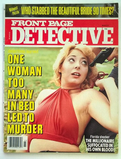 """Front Page Detective"" March 1979 Assault Cover - High Grade"