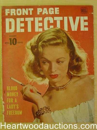 """Front Page Detective"" August 1946"