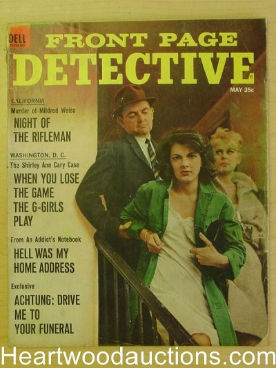 """Front Page Detective"" May 1965"