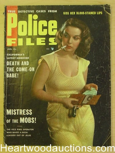 """Police Files"" August 1955 Vol 2 #2 Mistress of the Mob"