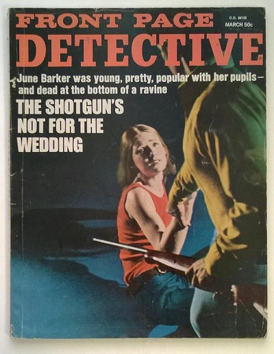 """Front Page Detective"" March 1972 Assault Cover"