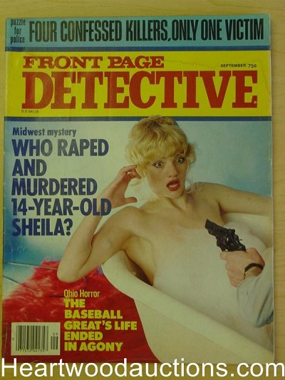 """Front Page Detective"" September 1979 Assault Cover"