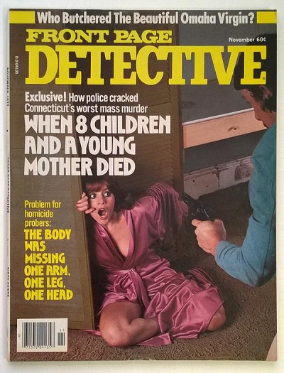 """Front Page Detective"" November 1977 - High Grade"