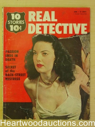 """Real Detective"" June 1951 Bad Girl Cover"