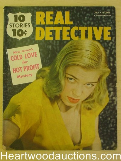 """Real Detective"" July 1951"