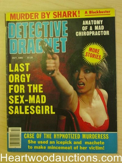 """Detective Dragnet"" October 1982 Bad Girl Cover"