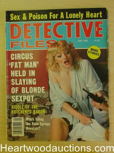 """Detective Files"" January 1983 Assault Cover"