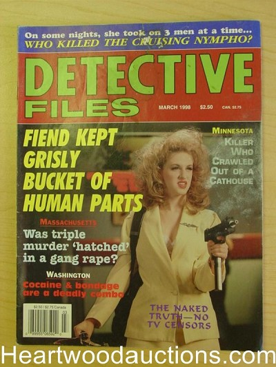 """Detective Files"" March 1998 Bad Girl Cover"